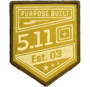 5.11 Purpose Built Patch - 120 Coyote