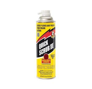 Shooter Choice Quick-Scrub 3 Gun Cleaner-Degreaser 15 oz Aerosol