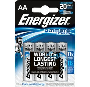 Baterie Energizer Ultimate Lithium AA - 4ks