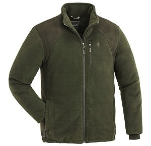Fleece mikina Pinewood Harrie - olive