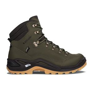 Pánská obuv Lowa Renegade GTX Mid - Forest / Dark Brown