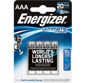 Baterie Energizer Ultimate Lithium AAA - 4ks