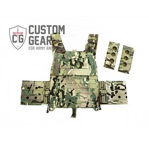Nosič plátů Custom Gear CGPC3 TQS SET - Multicam