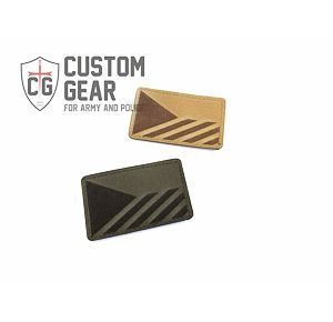 Custom Gear Laser Flag Patch levá - Coyote Brown