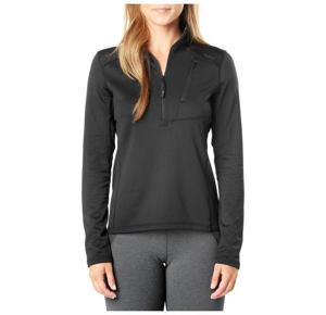 5.11 Glacier Half Zip Mikina - 264 True Black