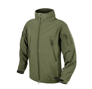 Softshellová bunda Helikon Gunfighter Windblocker - Olive Green