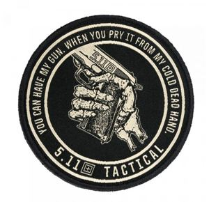 5.11 Cold Dead Hands 45 Patch - 019 Black