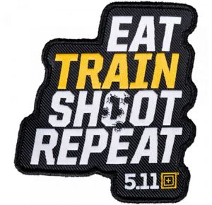 5.11 Repeater Patch (Eat/train/shoot/repeat)