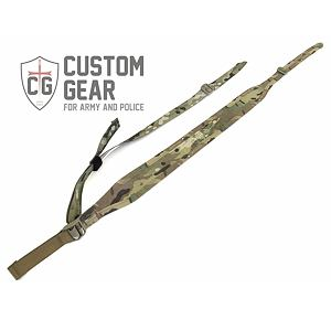 Popruh na zbraň polstrovaný Custom Gear Light Sling Padded - Multicam