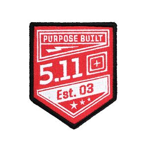 5.11 Purpose Built Patch - 477 Range Red