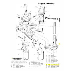 Dillon XL650 Primer System Parts Primer Feedbody Housing W/Shield