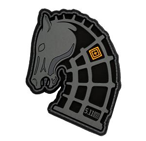 5.11 Pony Mag Patch - 026 Double Tap