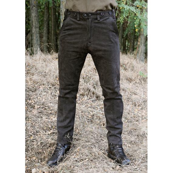 Kalhoty kožené hnědé Carl Mayer Rabenau Braun - Wildgame.cz f44462b2ef