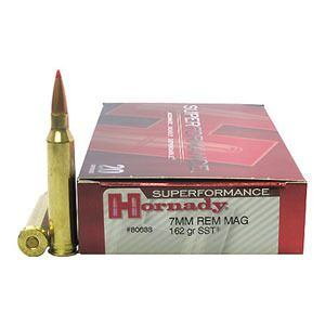 Náboj kulový Hornady Superformance 7mm Rem. Mag. 162GR SST