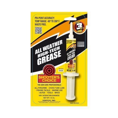 Shooter Choice All Weather High-Tech Grease 10ml Syringe